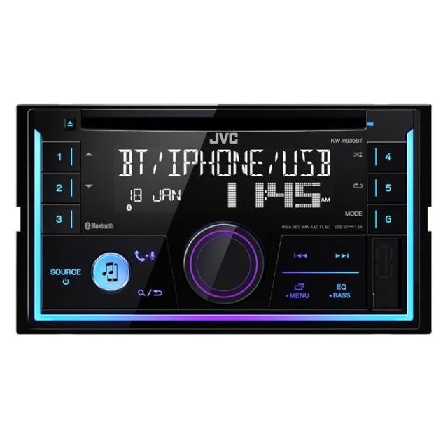 Jvc Autoradio Mp3 Kw-r930BT