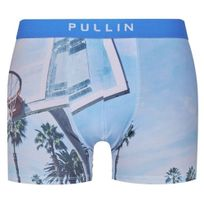 Pull-in - Pull In Boxer Homme Microfibre Basket Bleu Blanc