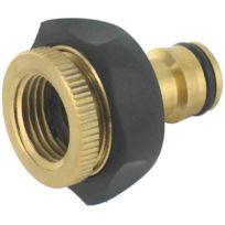 Capvert - Cap Vert - Nez de robinet avec adaptateur en laiton 20 x 27 / 26 x 34