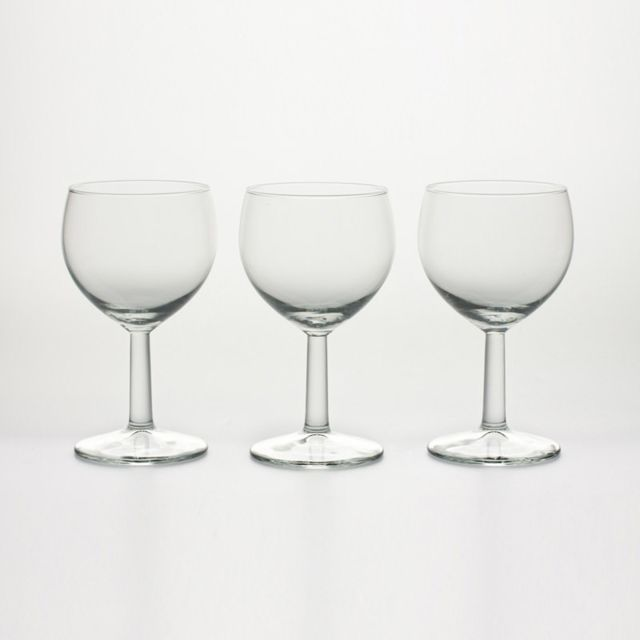 ROYAL LEERDAM LOT DE 3 VERRES A PIED BALLON VIN 19CL