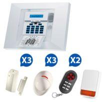 VISONIC - PowerMax Pro - Alarme maison agrée assurances NF&a2p Kit 6