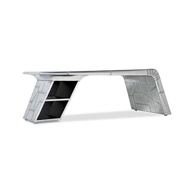 Privatefloor Table basse aile d'avion Aviator aluminium