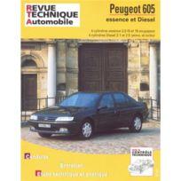 Topcar - Revue technique pour Peugeot 605 4cyl.es. 90-96 diesel 90 à 95