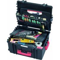 Parat - Parapro - 6582.501-391 - Mallette À Outils - Avec Roulettes - Porte-outils Cp-7 - Noir