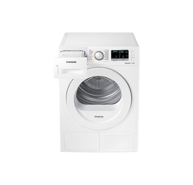 samsung s che linge condensation dv70m5020kw blanc achat s che linge condensation a. Black Bedroom Furniture Sets. Home Design Ideas