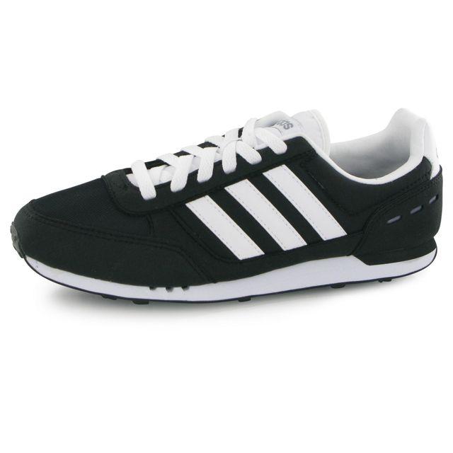 Adidas Neo City Racer noir, baskets mode homme pas cher