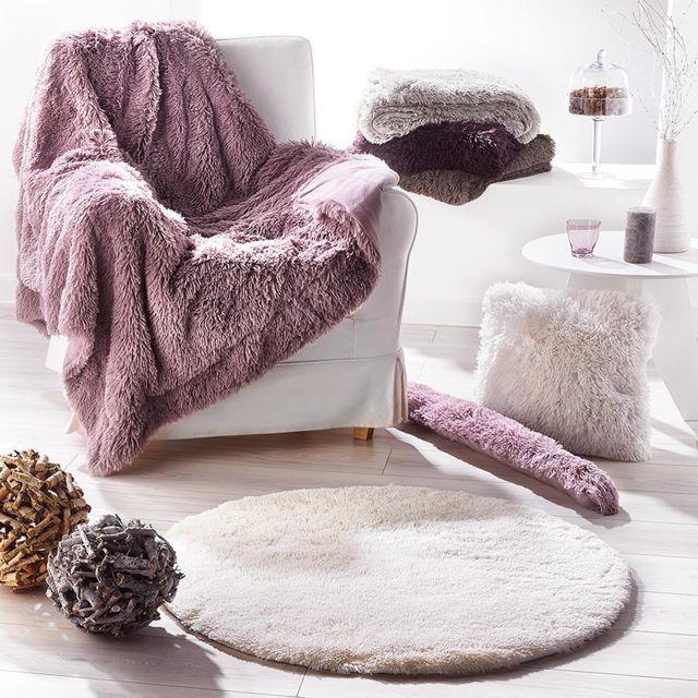 fred olivier plaid fourrure marmotte gris 130x160cm 130cm x 160cm pas cher achat vente. Black Bedroom Furniture Sets. Home Design Ideas