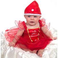 Lucy Locket - Robe Déguisement de Noël pour Bébé avec Chapeau