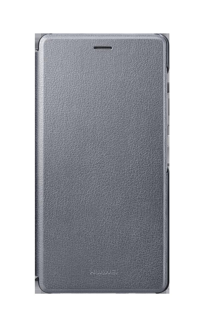 Etui Flip Cover pour P9 LITE - Gris