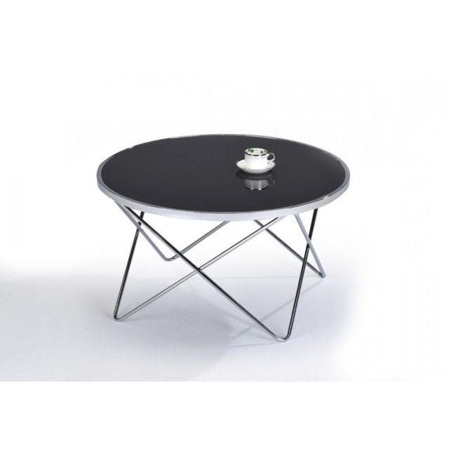 Meubletmoi Table basse ronde - Xena