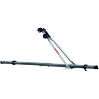 Automaxi - Porte-vélo de toit en Acier Porte-vélo de toit en acier pouvant transporter 1 vélo Porte-vélo de marque Montblanc Charge maximale: 15 kgs Poids: 3 kgs Compatible avec avec la plupart des marques de barres de toit en acier et uniquement en acier Sys
