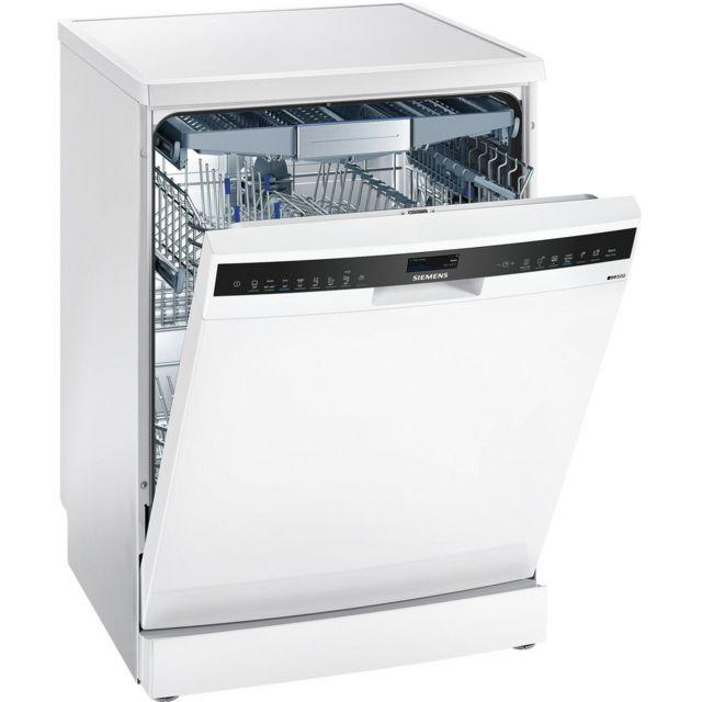 SIEMENS lave-vaisselle 60cm 14c 42db a+++ blanc - sn258w06te