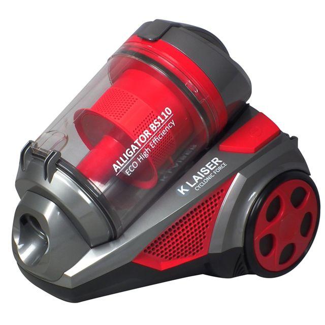 klaiser bs110 aspirateur sans sac multi cyclone alligator xtreme force achat aspirateur sans. Black Bedroom Furniture Sets. Home Design Ideas