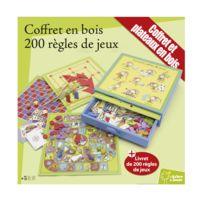 Smir - Coffret bois : Jeux de société : 200 jeux