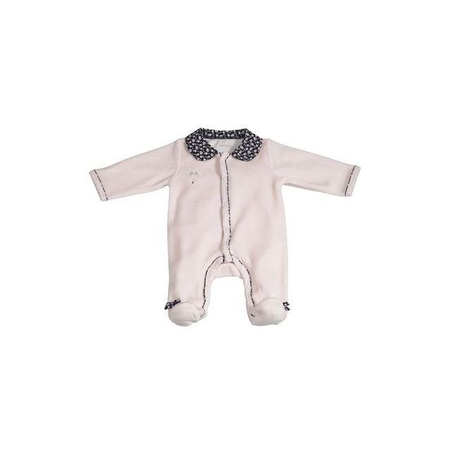 Sauthon - Pyjama bébé rose 1 mois Miss Chipie - pas cher Achat   Vente  Pyjamas 7447752d1c6