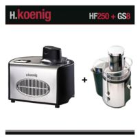 HKOENIG - Turbine à glace et centrifugeuse HF250 et GS8 H.Koenig