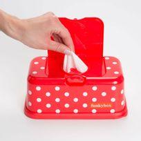 Funky Box - Boîte Lingettes Gris Etoile Argent