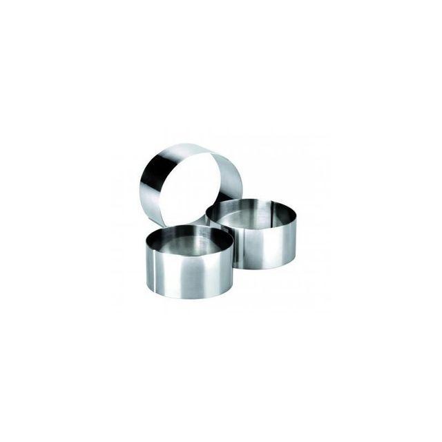 Ibili Cercle Inox Clasica ht 4.5cm 7 x 4.5cm