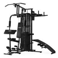 KLARFIT - Ultimate Gym 5000 Station de Fitness multifonctions -noire