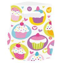 Amsc - an - Sachets plastique Cupcake