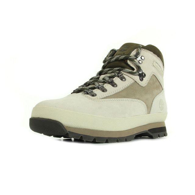 bottes timberland euro leather hiker marron