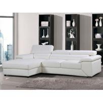 Canape Angle Cuir Blanc Bientot Les Soldes Canape Angle Cuir Blanc