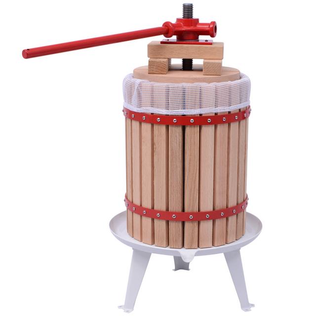 Vidaxl Presse à fruits et vin 18 L