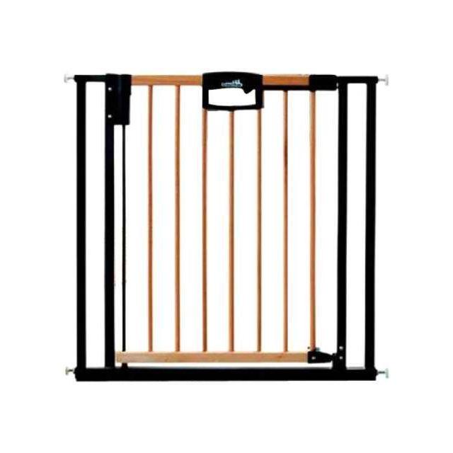 geuther barriere de s curit easylock wood 68 76cm pas cher achat vente barri res de porte. Black Bedroom Furniture Sets. Home Design Ideas