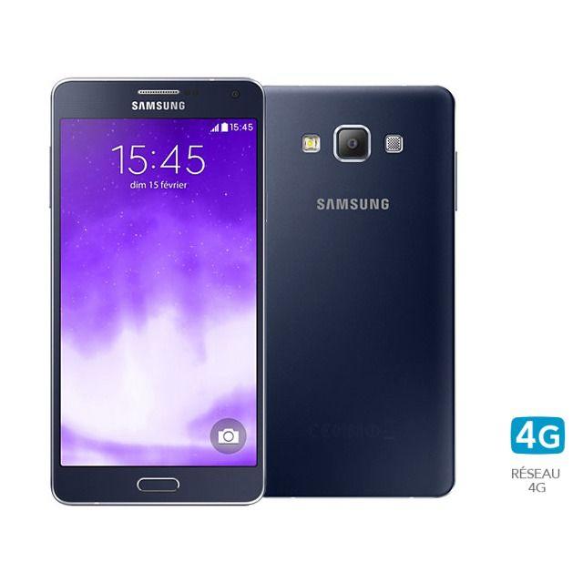 Samsung - Galaxy A7 noir