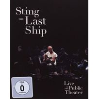 A & M - The Last Ship At The Public Theater blu-ray