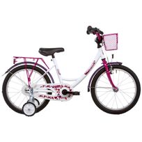 Vermont - Vélo Enfant - Girly - Vélo enfant 16 pouces - rouge/rose