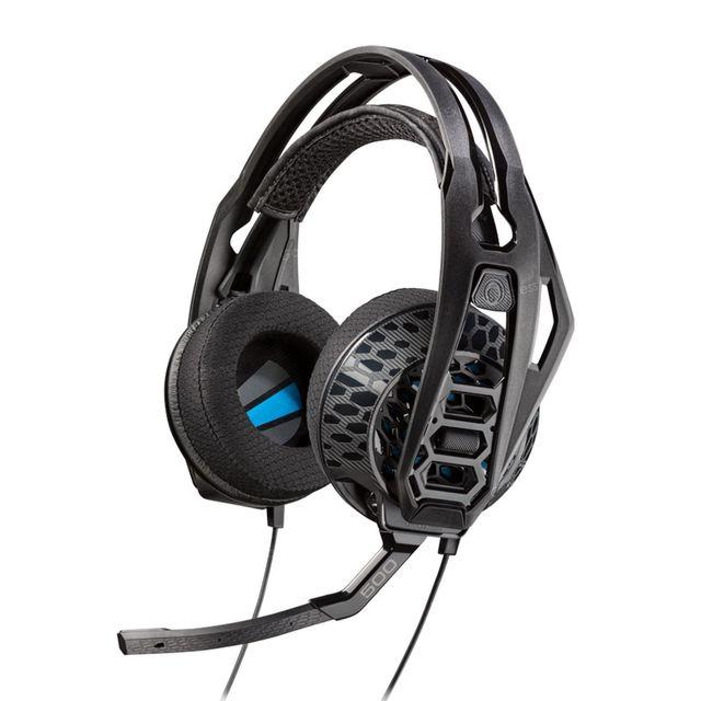 PLANTRONICS Casque audio filaire Gaming RIG 500E- Noir RIG 500E E-Sports Edition : inspiré pour les jeux, approuvé par ESLLemicro-casque RIG 500 Eoffre d'excellentes performances audio avec un confort durable et tout en l&e