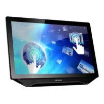 Hanns.G - Ht231HPB - Ht Series - écran Led - 23'' - Multi-tactile - 1920 x 1080 - 250 cd m2 - 1000:1 - 80000000:1 dynamique 5 ms - Hdmi, Dvi-d, Vga - haut-parleurs - texture noire, argent brillant