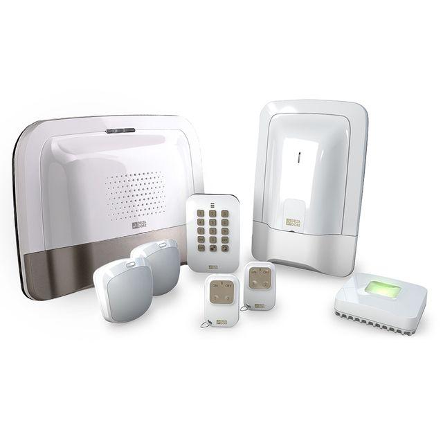 delta dore tyxal pack alarme maison sans fil compact gsm n 1 pas cher achat vente. Black Bedroom Furniture Sets. Home Design Ideas