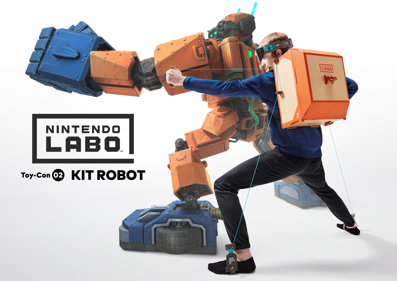 Labo - Kit Robot - Jeu Switch