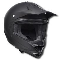 Casque de moto Noir Sans visière Taille L