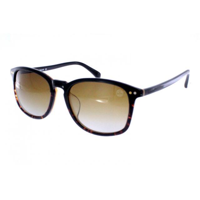 Timberland - Tb 9066-F 05D - Lunettes de soleil homme Noir - pas cher Achat    Vente Lunettes Aviateur - RueDuCommerce fb4bdc35e049