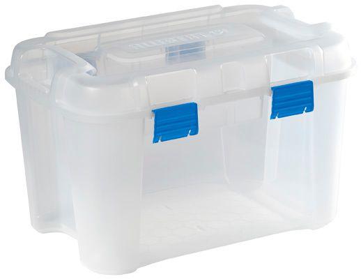 Handy 2 39,5x29x20 cm 15L Avec Couvercle CURVER Transparent handy box