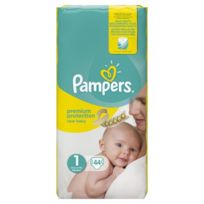 Pampers - New Baby Taille 1 2-5 kg x44 couches