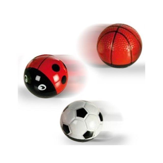Totalcadeau Boule en métal à propulsion - Jeux de course Design - Balle de Tennis