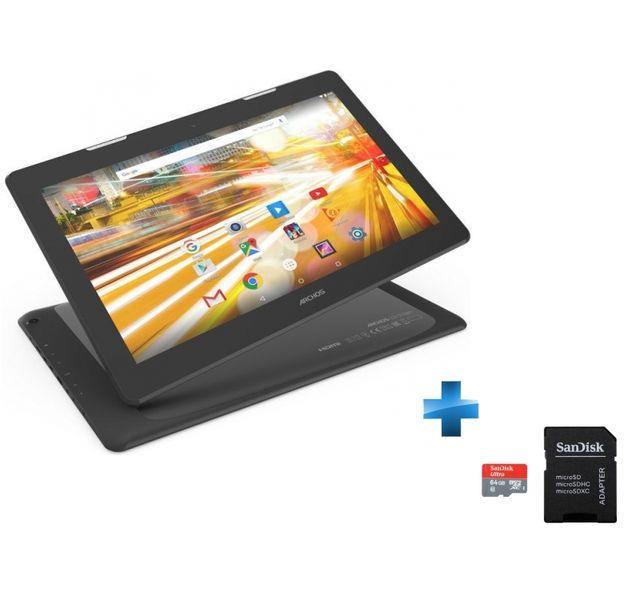 ARCHOS - 133 Oxygen - WiFi - Noire + microSDHC 64 Go Sandisk Class 10