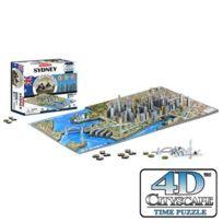 4D Cityscape - Puzzle 4 Dimensions Sydney - 4DCityScape