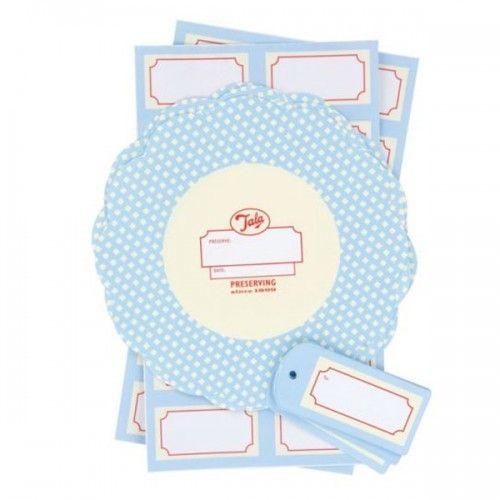 Tala Set 12 étiquettes à confiture