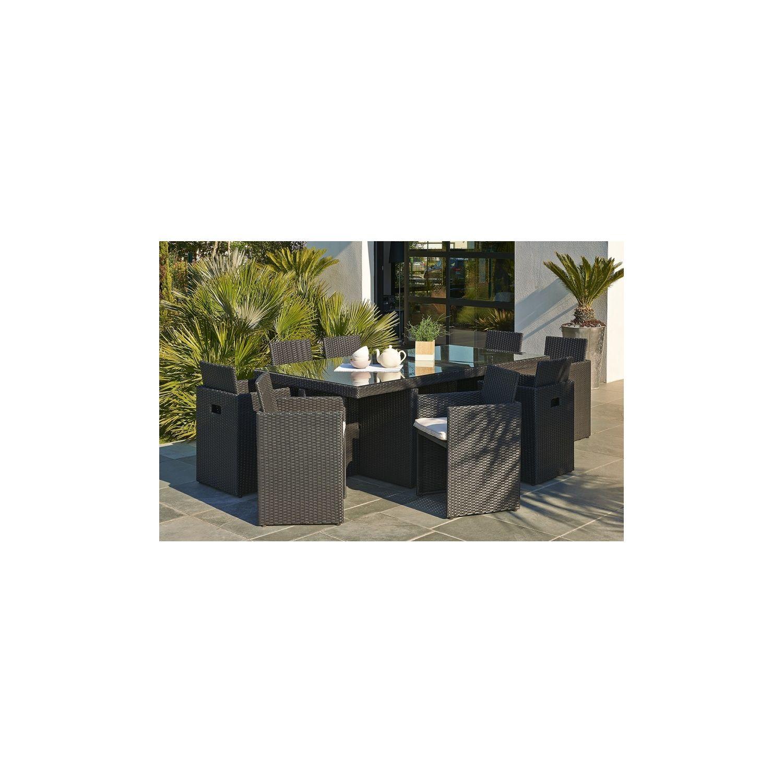 emejing housse salon de jardin table ovale photos. Black Bedroom Furniture Sets. Home Design Ideas