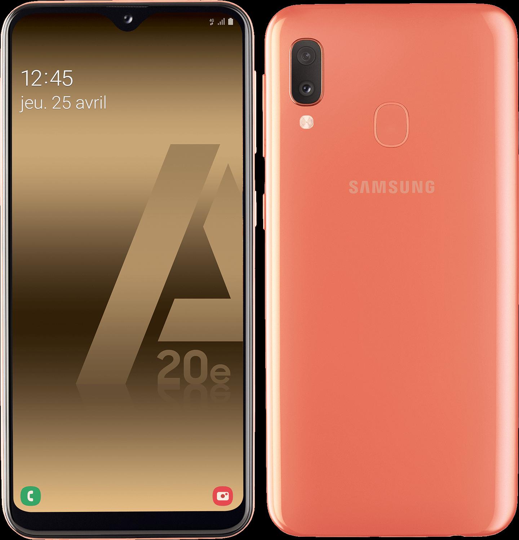 Galaxy A20e - Corail