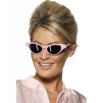 Smiffy'S - Lunettes rock star roses adulte