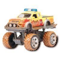 Motor & Co - Rallye Monster 15 cm Jaune