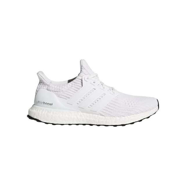 Adidas Chaussures Ultra Boost gris clair blanc pas cher