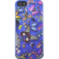 Christianlacroix - Coque Butterfly Parade de Christian Lacroix couleur Cobalt pour iPhone 5/5S