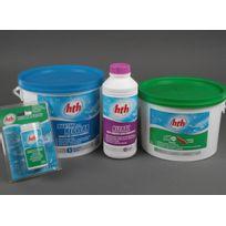 Hth - Kit traitement régulier chlore 0-20m3